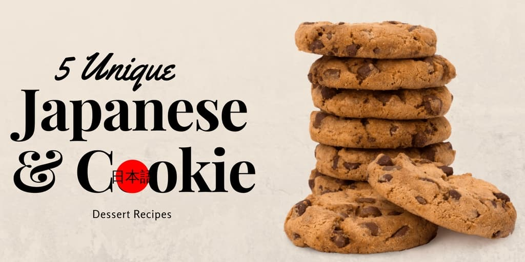 5 Unique Japanese Cookie Dessert Recipes