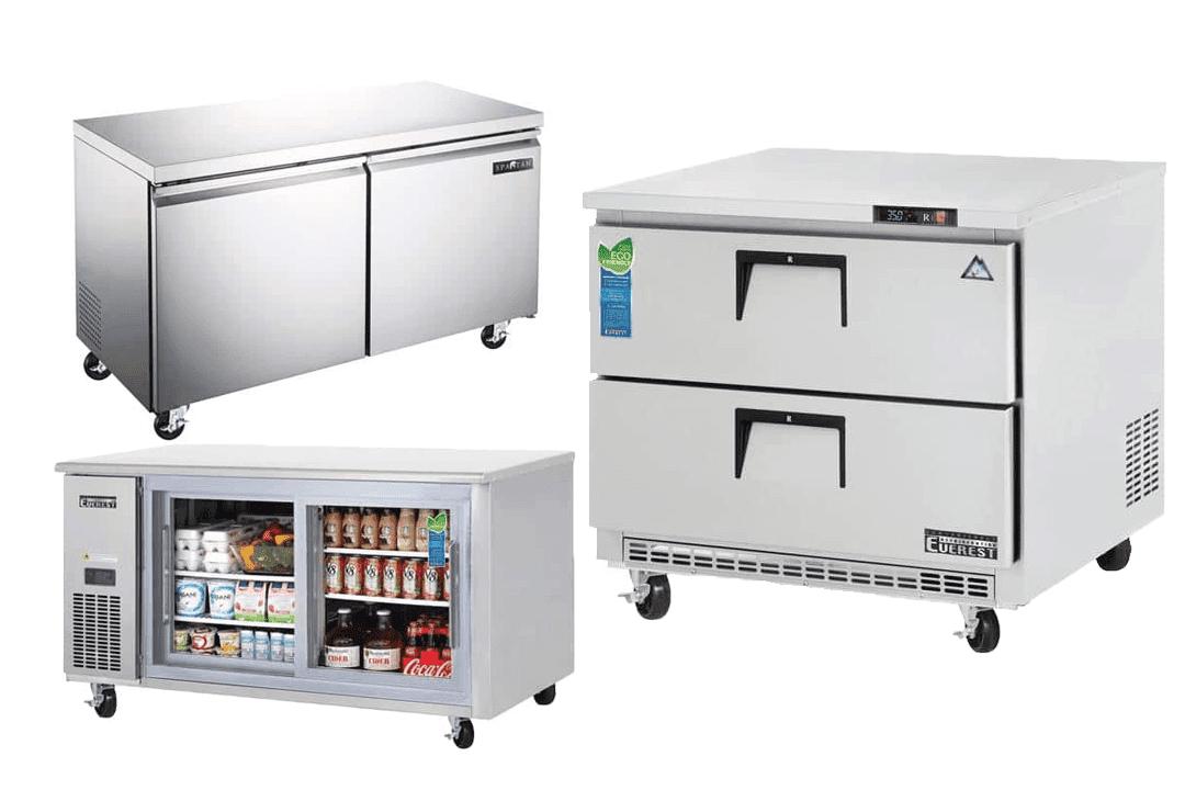 Undercounter Refrigerator, Freezer Checklist