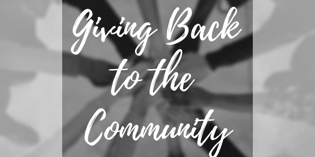 Giving Back to the Community