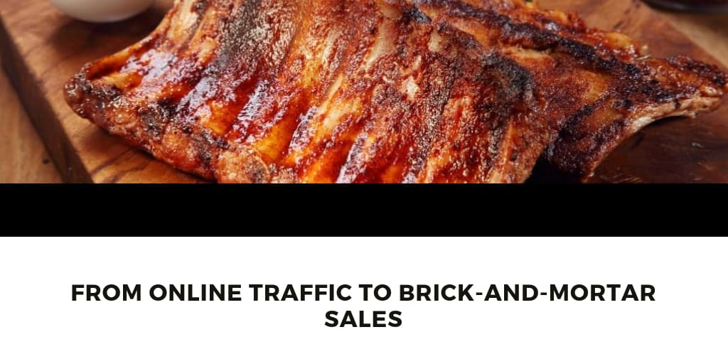 From Online Traffic to Brick-and-Mortar Sales