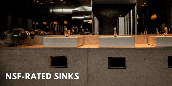 NSF-Rated Sinks