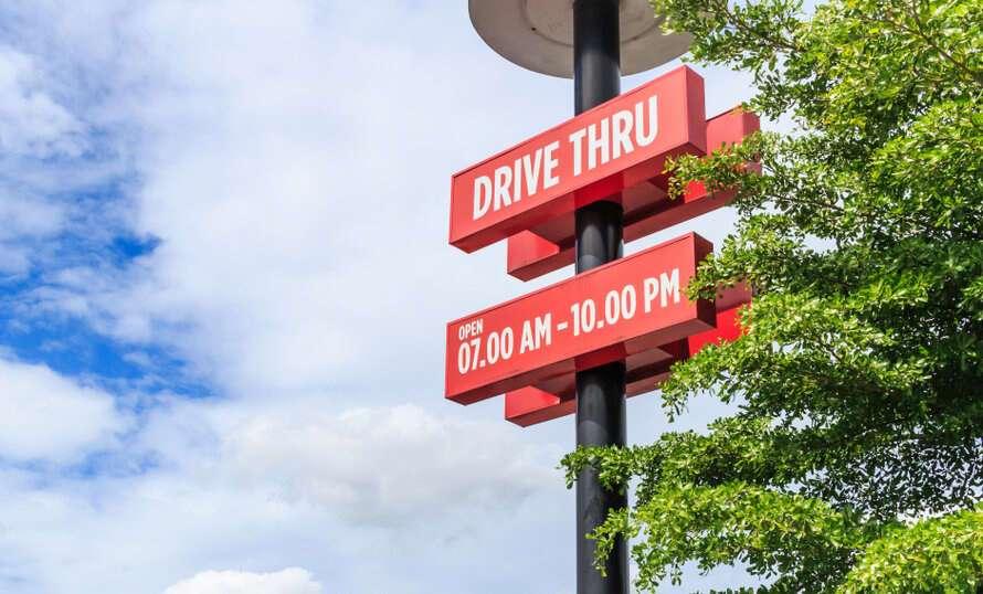 is drive thru safe