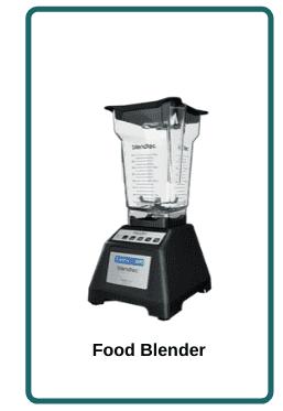 food processor vs food blender