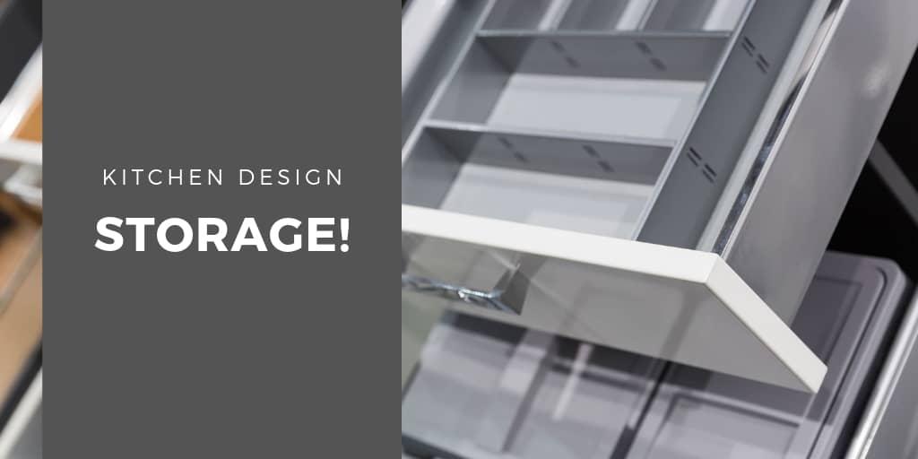 Kitchen Design - Storage