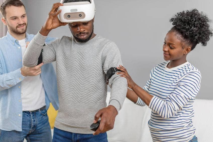 Virtual reality restaurant training