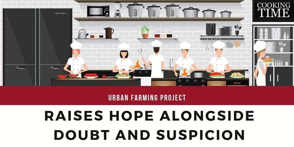 Urban Farming Project Raises Hope Alongside Doubt and Suspicion