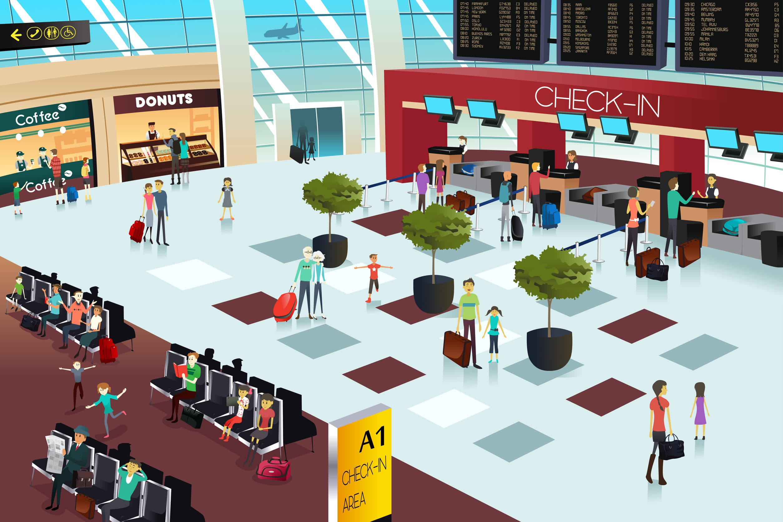 Local Restaurants Setting Up Shop in Airports