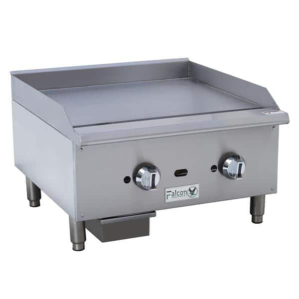 griddle with manual controls