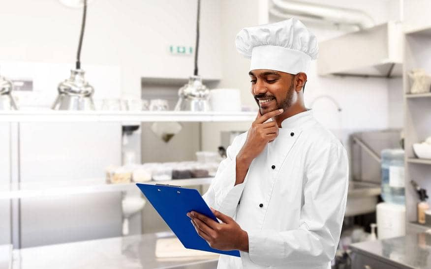 how to do inventory in a restaurant