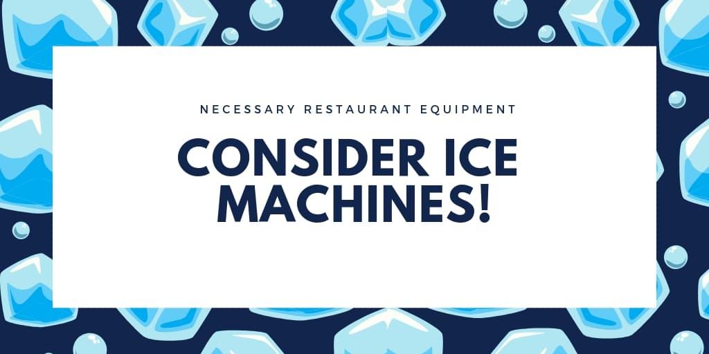 Necessary Restaurant Equipment