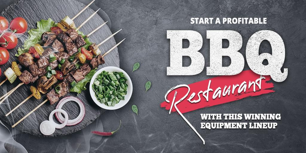 Start A Profitable BBQ Restaurant With This Winning Equipment Lineup