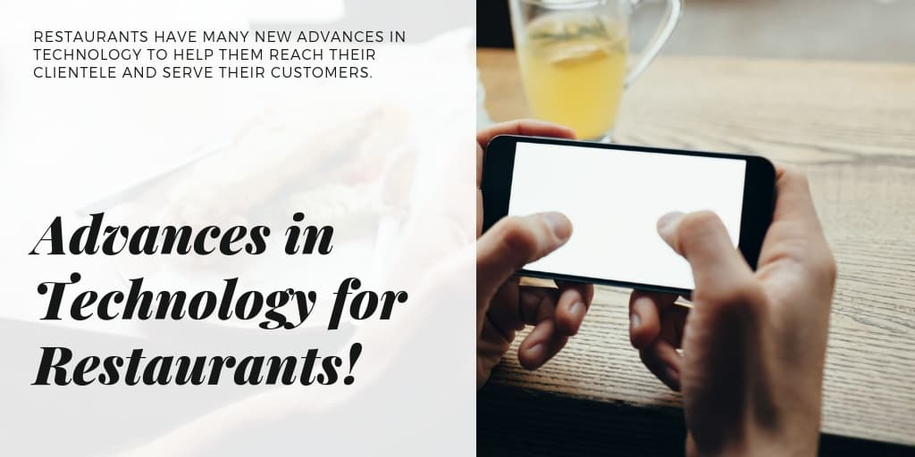 Advances in Technology for Restaurants