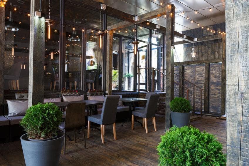 eco friendly restaurant