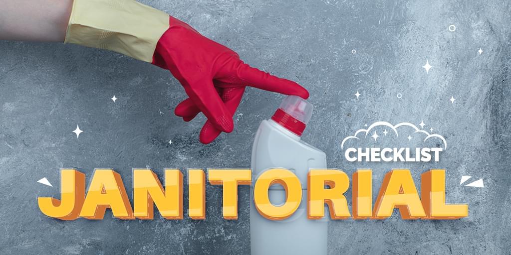 Janitorial Checklist