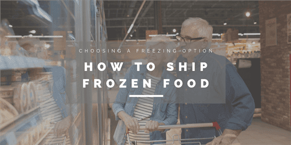 How to Ship Frozen Food?