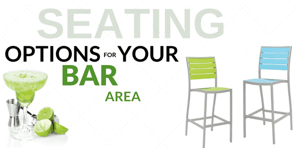 Have a Seat: Seating Options for Your Bar Area
