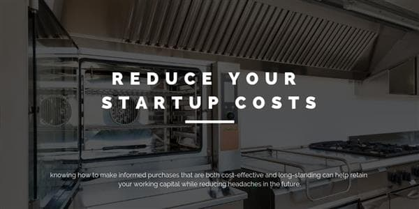 Reduce Your Startup Costs