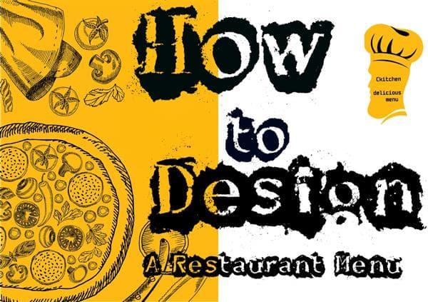 How to Design a Restaurant Menu