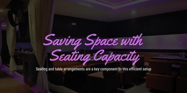 Saving Space with Seating Capacity