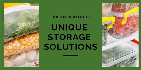 Unique Storage Solutions for Your Kitchen