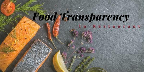 Food Transparency Demands