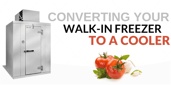 Converting Your Walk-In Freezer to a Cooler