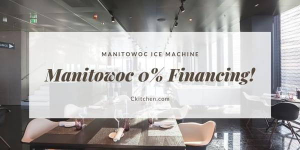 Manitowoc 0% Financing