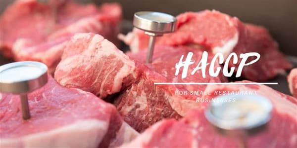 HACCP for Small Restaurant Businesses