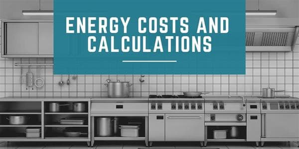 Energy Costs and Calculations