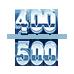 400-500 lbs