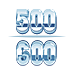 500-600 lb