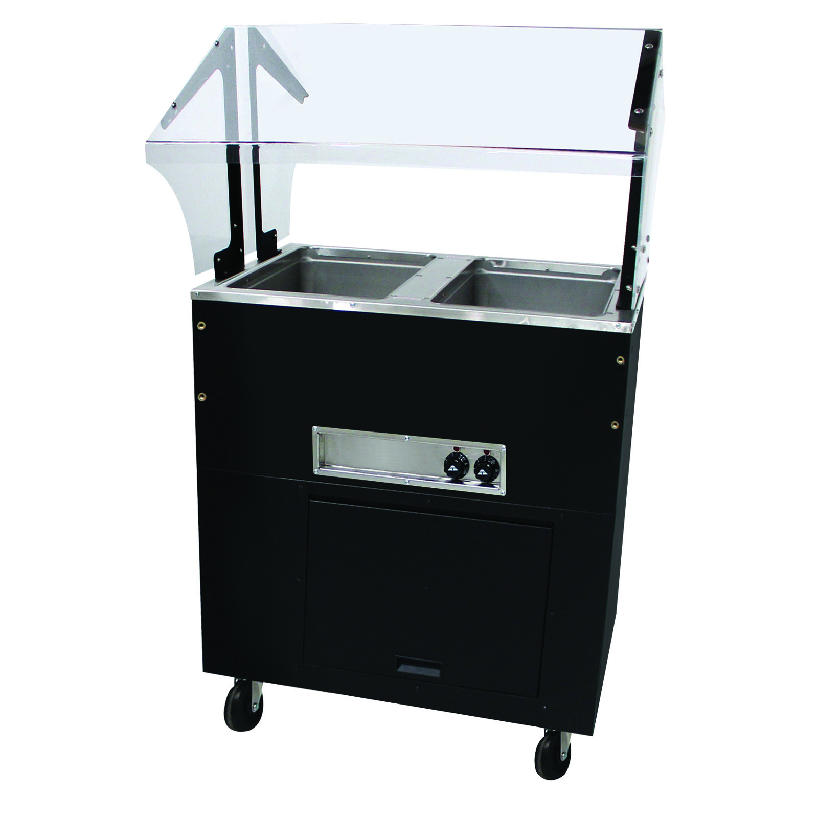 Advance tabco bsw2 240 b sb portable hot for Sideboard porta