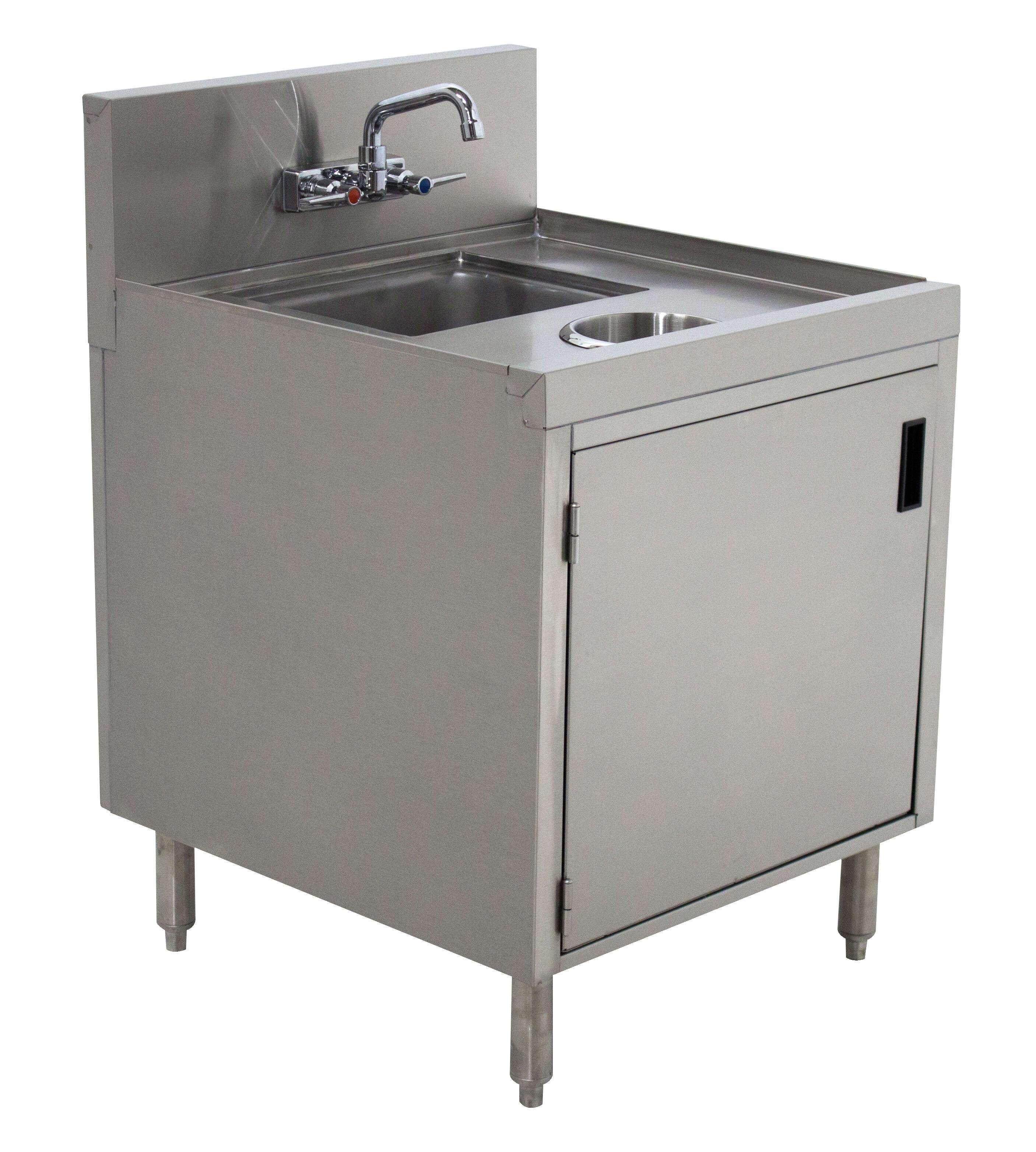 Prestige Kitchen Cabinets: Advance Tabco PRWC-24-18-DR Prestige Wet/Dry