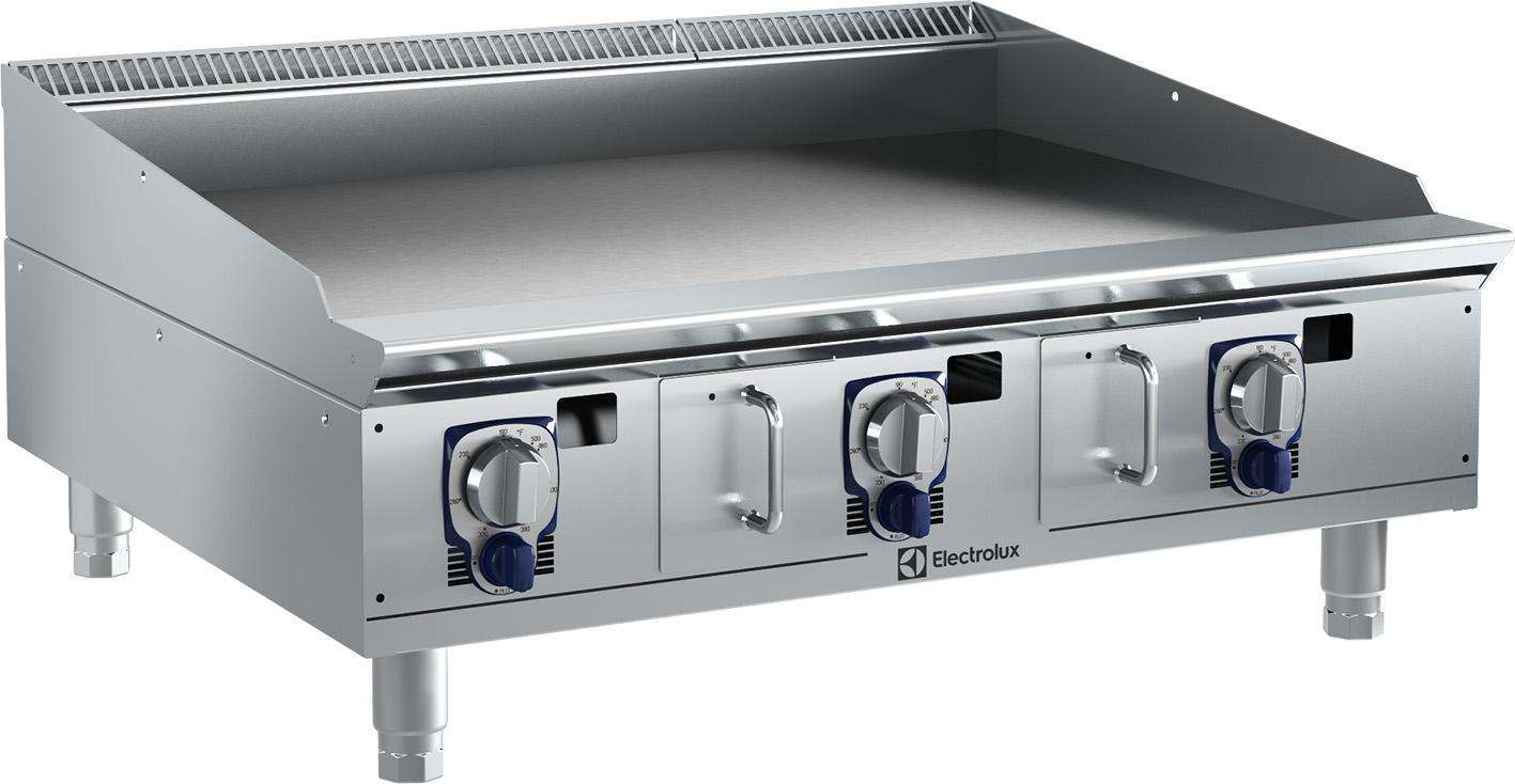 Commercial Griddles For Restaurants ~ Electrolux professional empower range griddle