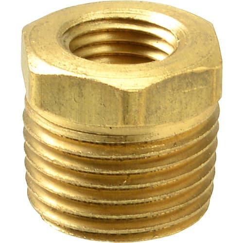 Fmp brass reducing bushing hex quot npt