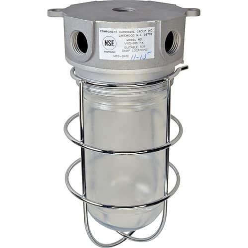 FMP 253-1230 Vapor-Proof Light Fixture With Junction Box