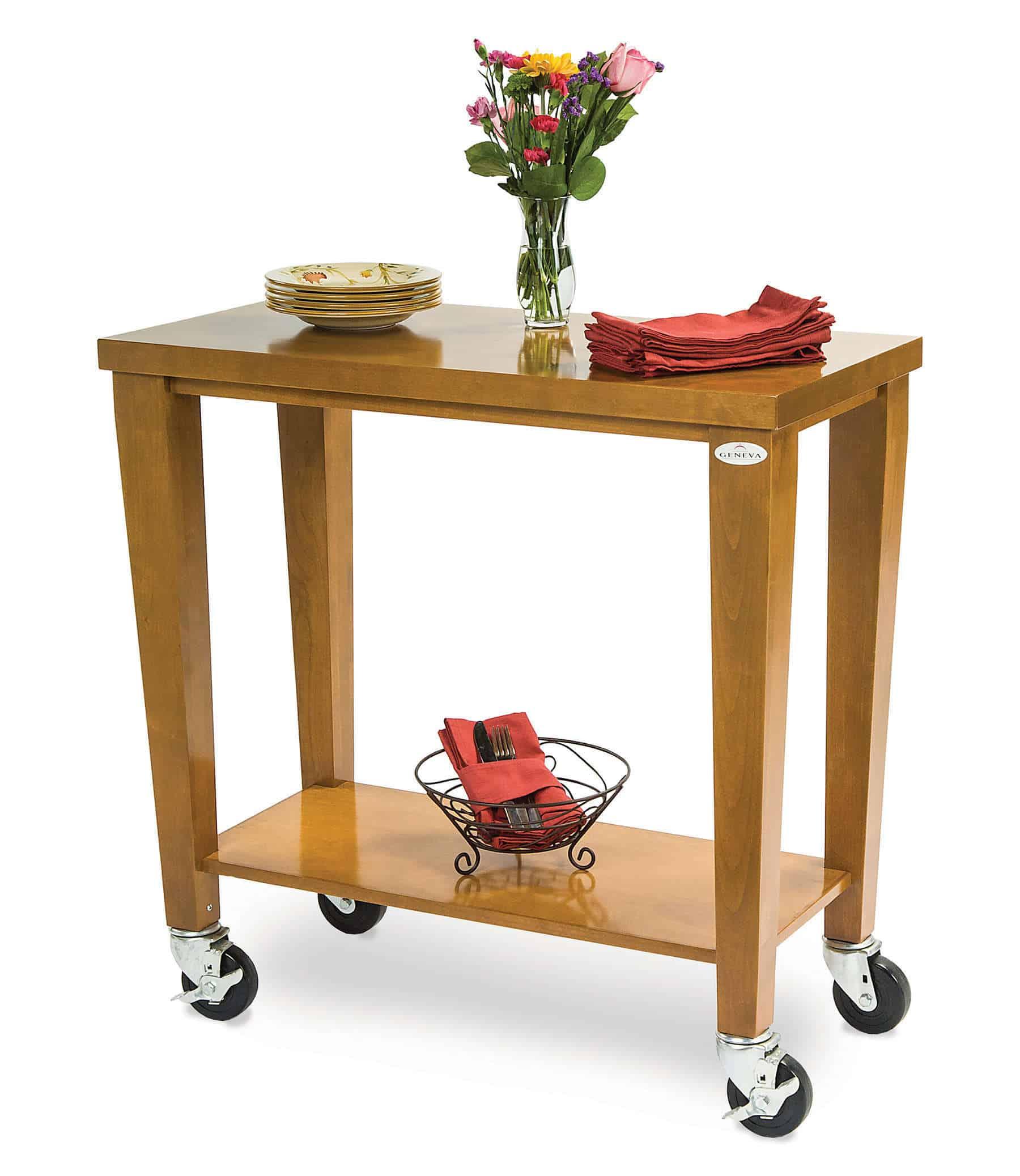 Geneva 79984 Serving Cart | Kitchen Equipment | CKitchen.com