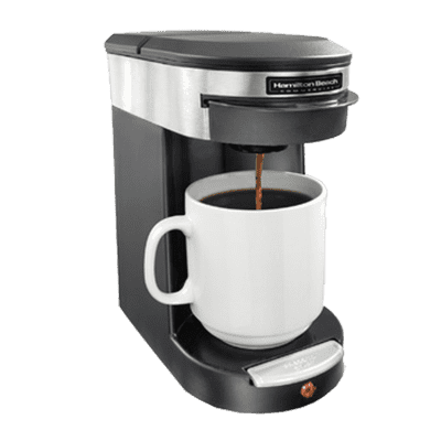 Coffee Maker Without Auto Shut Off : Hamilton Beach HDC200S Pod Coffee Maker CKitchen.com