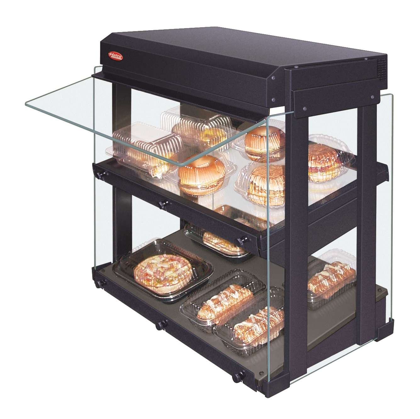 Small Commercial Food Warmer ~ Hatco grhw sgds glo ray display warmer ckitchen