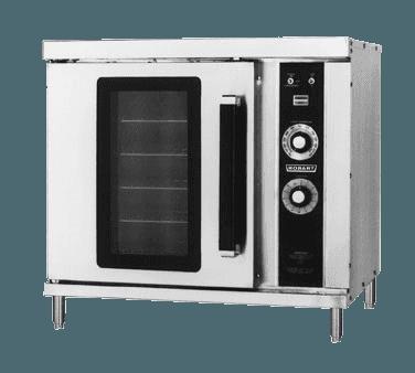 Hobart hec20 208v half size convection oven for Kitchen designs hobart