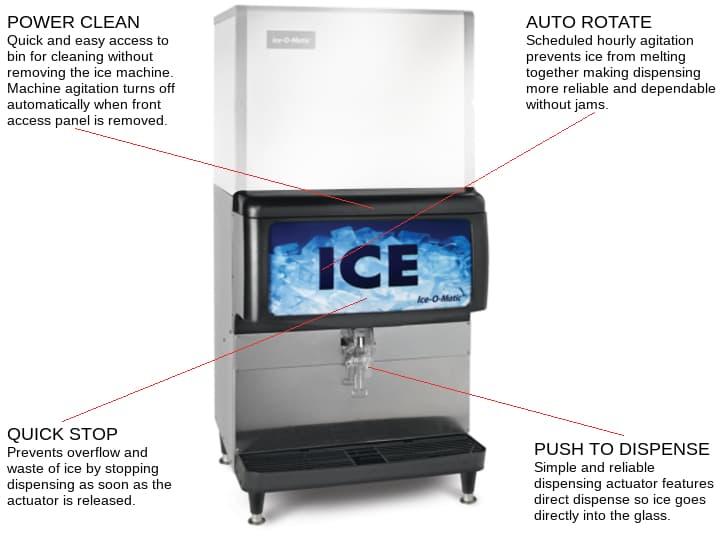 Ice-O-Matic IOD250 Ice Dispenser