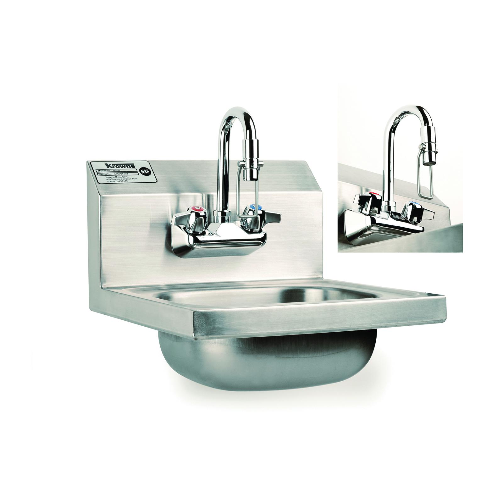Kitchen Hand Sink : Krowne Metal HS-34 Hand Sink Hand Free CKitchen.com