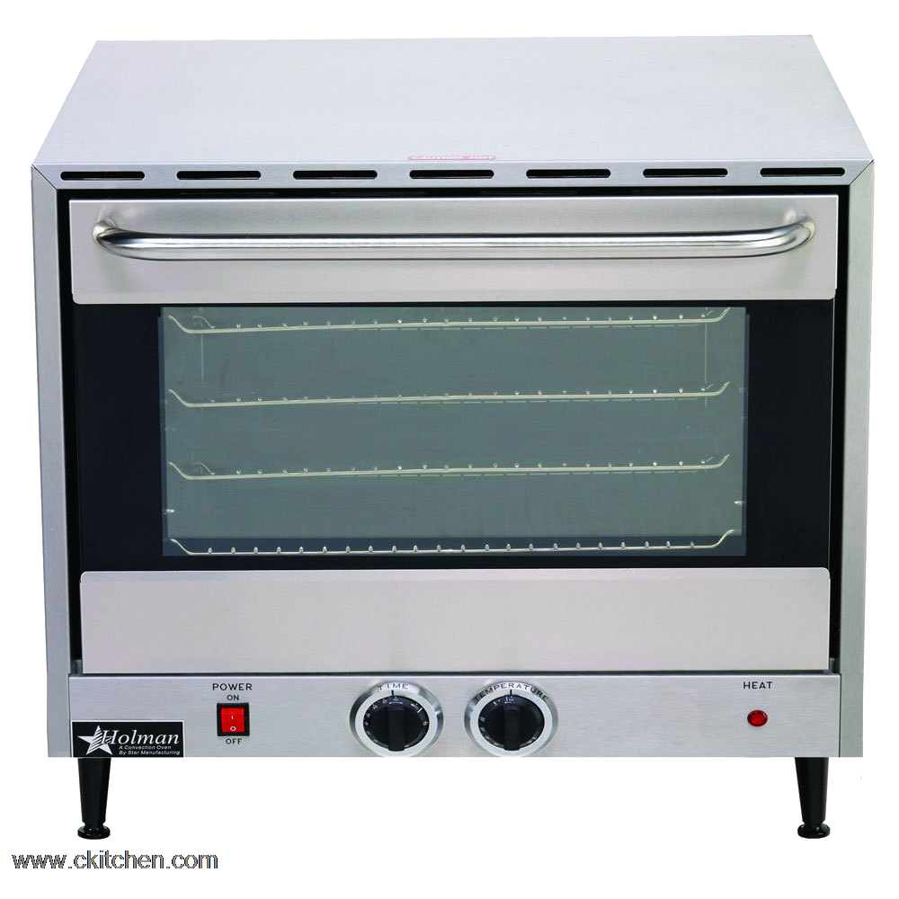 Holman Electric Countertop Convection Oven : Star Mfg. CCOH-3 Holman Convection Oven CKitchen.com
