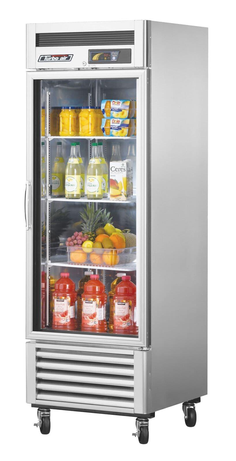 Turbo air msr 23g 1 super deluxe glass door for 1 glass door refrigerator