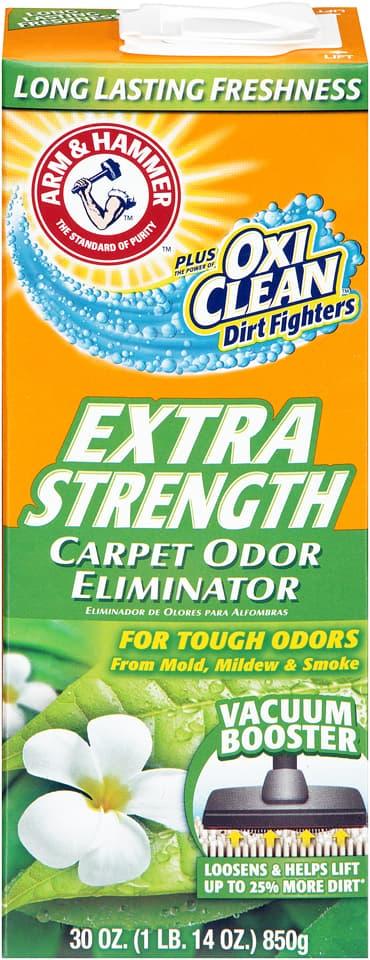 RJ Schinner 33200-11538 Church & Dwight Arm & Hammer Odor Eliminator Carpet Powder with Oxi-Clean