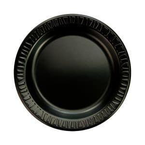 "RJ Schinner 9PBQR / 9PBQ Dart Foam Laminated Plate 9"" Black"