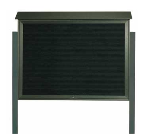 Aarco Products PLD4052TLDPP-4 Message Center