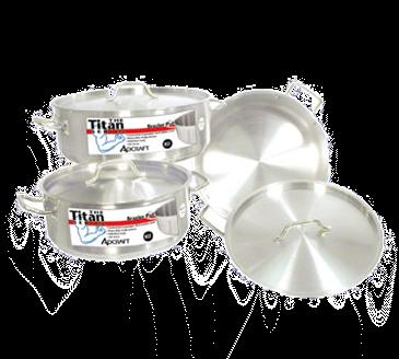"Admiral Craft Admiral Craft BRSS-25 Titan Series"" Induction Brazier Pot"