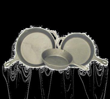 Admiral Craft CIF-10 Cast Iron Skillet