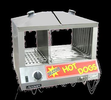 Admiral Craft Admiral Craft HDS-1200W Hot Dog & Bun Steamer